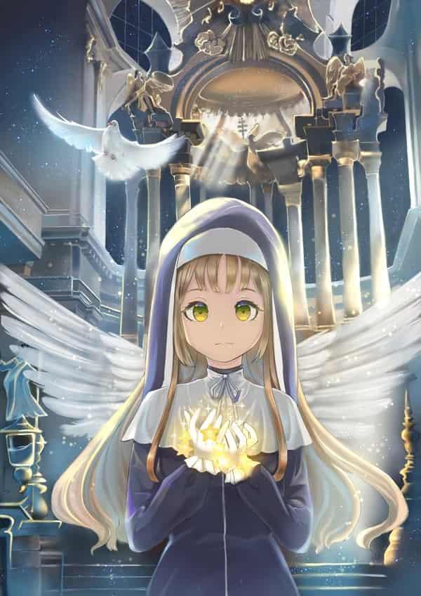 祈禱prayer Illust of Jofu 教堂 girl シスター・クレア virtual_YouTuber church にじさんじ