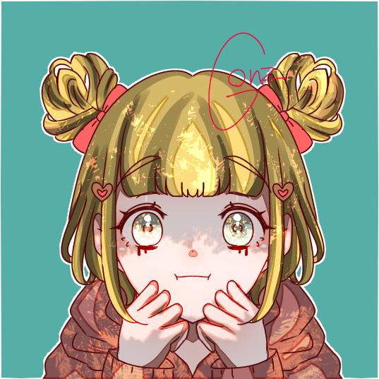 practice Illust of ☠🎀ごんざれす🎀💊 きらきら girl kawaii
