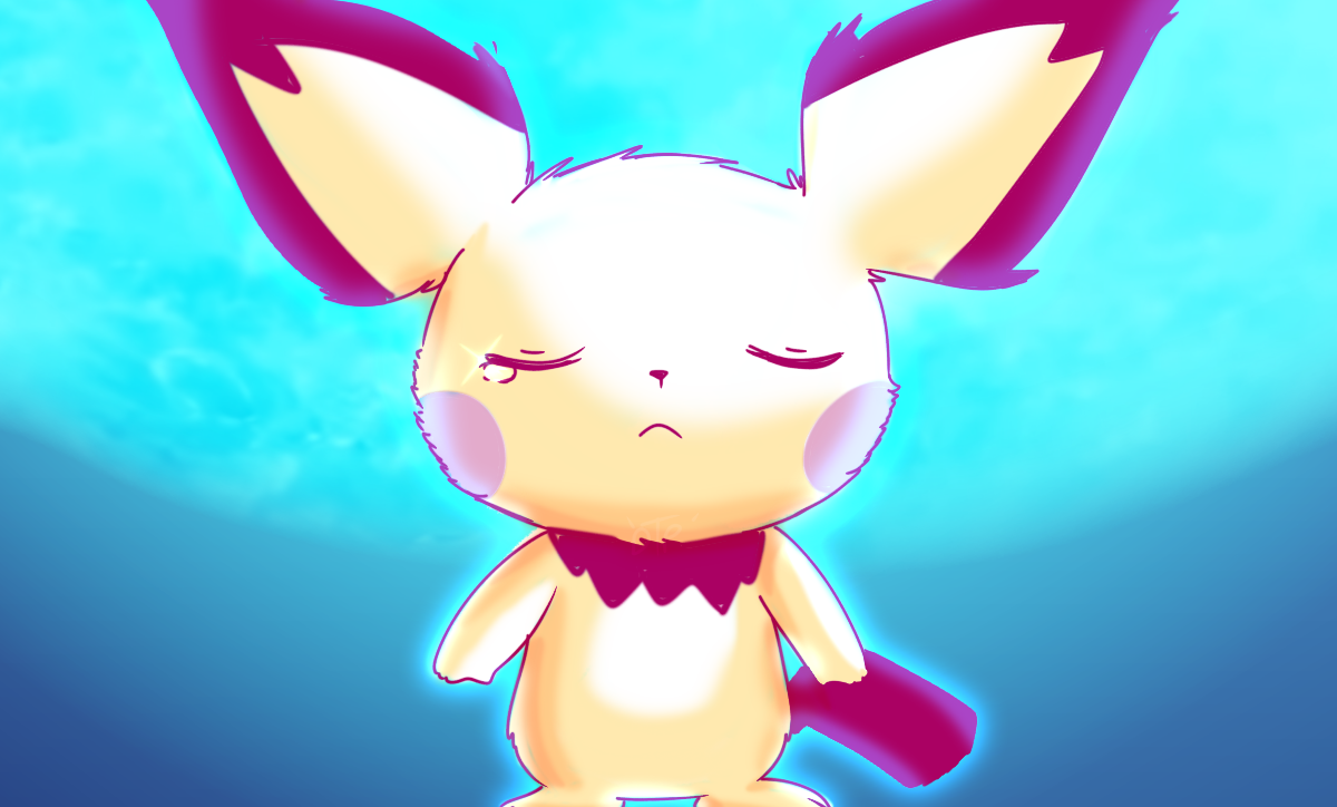 Rp) Redraw of Pichu before they evolve