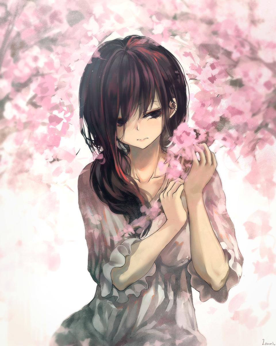 ❀ Illust of Isumi✾❀ oc girl flower original 原创少女