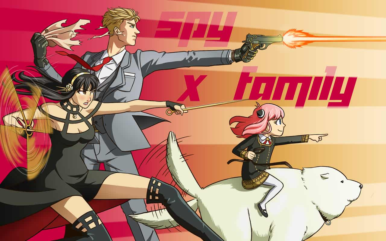 spy x family (ver. 2) Illust of CristóbalCapiz action SPY×FAMILY_Contest color fanart SPY×FAMILY