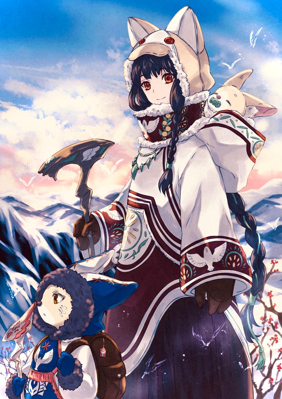 狐守 Illust of スミノス fantasy medibangpaint original
