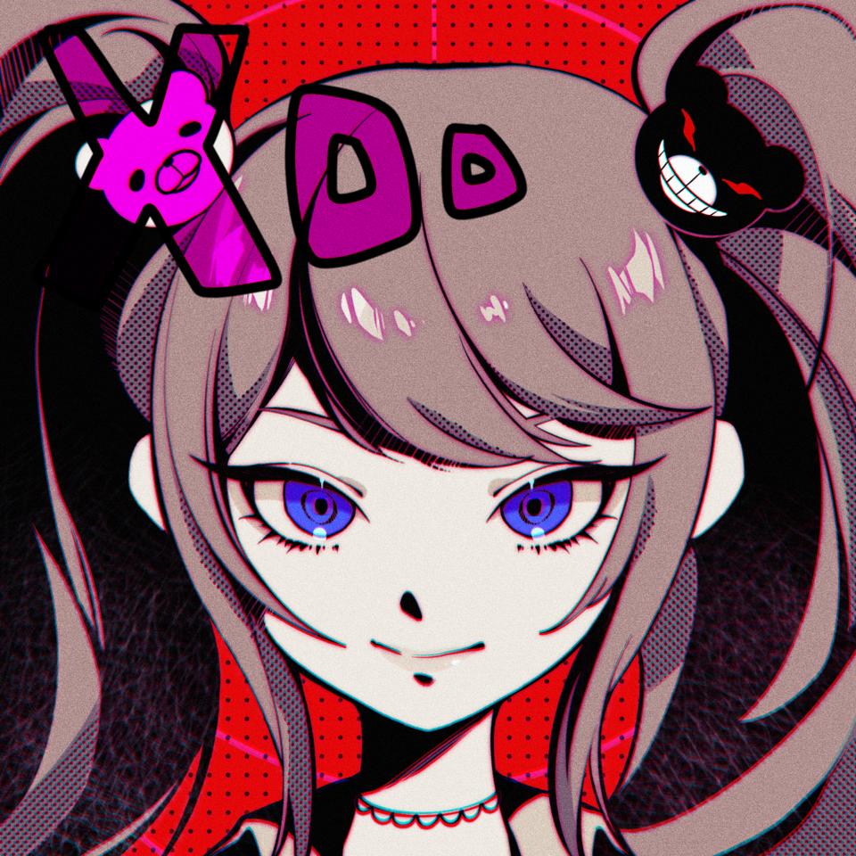 江ノ島盾子  Illust of 一口酉 Danganronpa girl 이뽀요..ㅠㅜ JunkoEnoshima head 너무