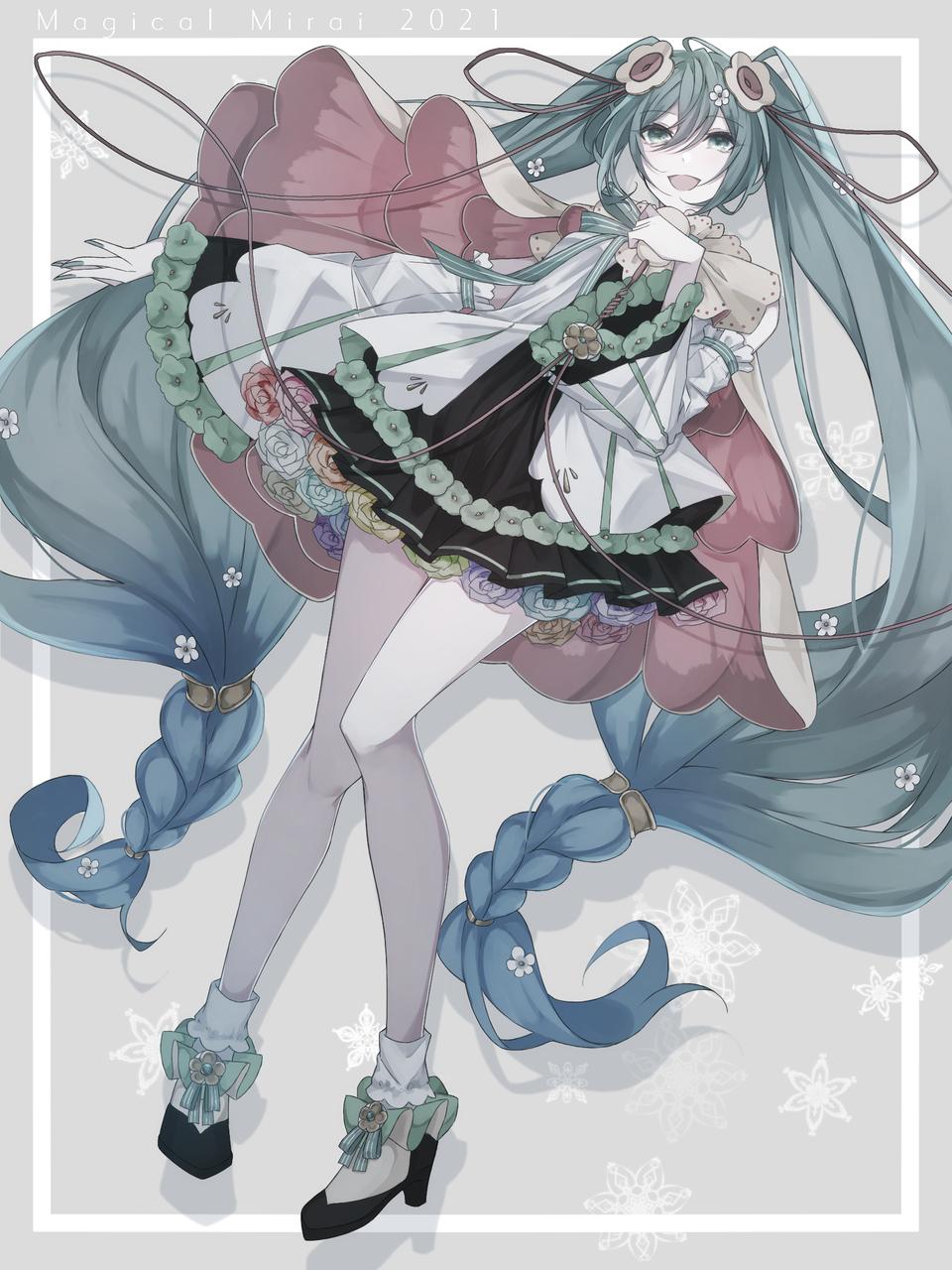 初音ミク Illust of 四葉よあ VOCALOID twin_ponytails medibangpaint hatsunemiku マジカルミライ