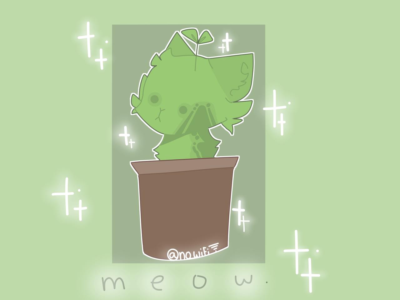 [ Request #8 + apology ;-;  Illust of RiiRen illustration cat aesthetic medibangpaint request apology oc