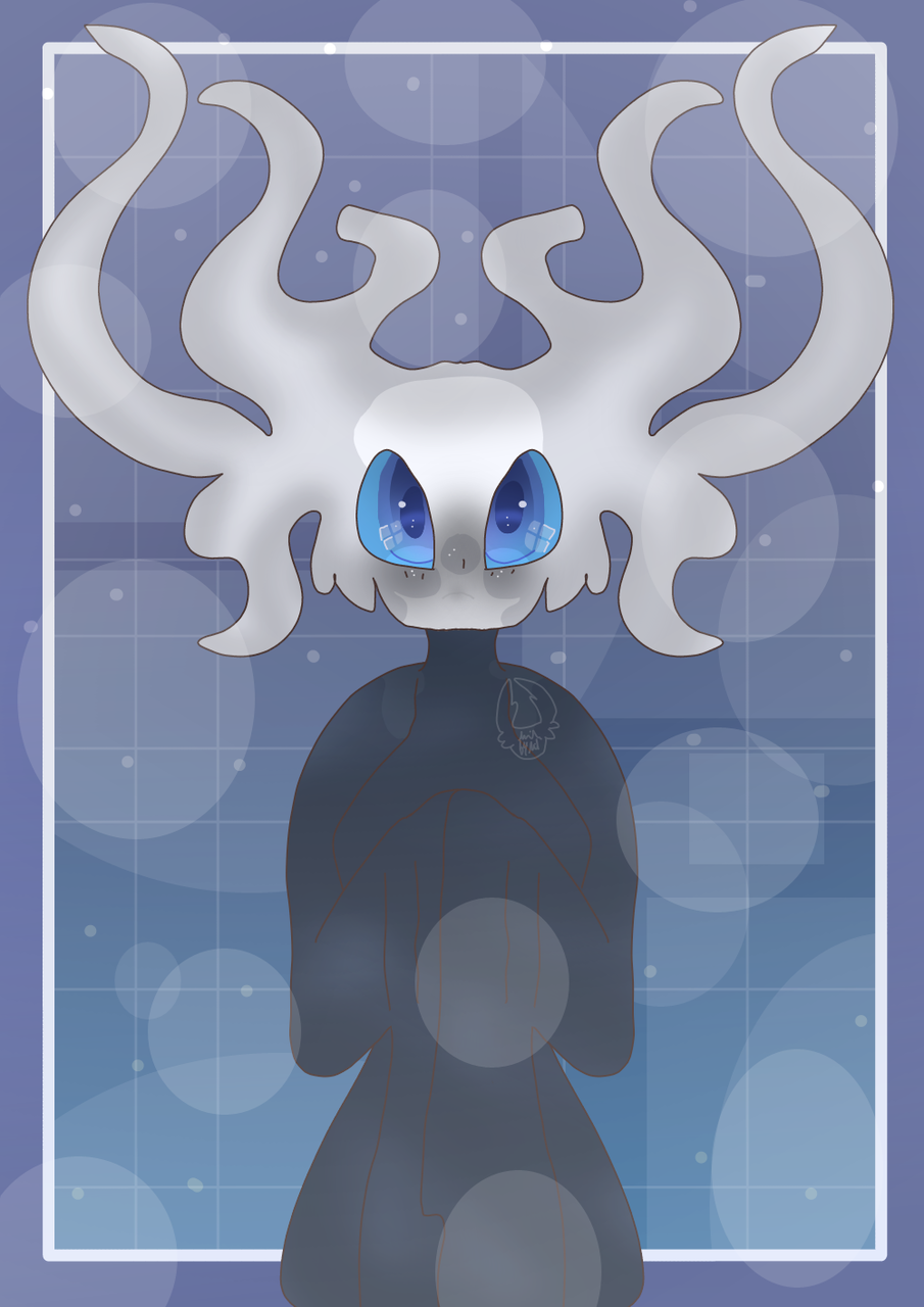 Symmetry Practice: White Lady  Illust of Squidkid64 medibangpaint Tree cute Hollow_Knight