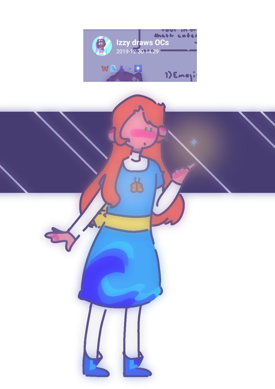Request 1: Izzy draws OCs