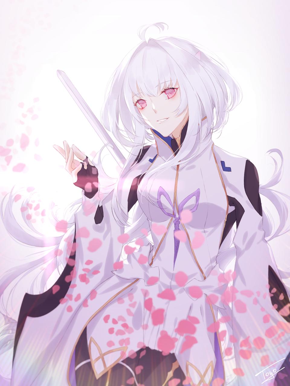 お花のお姉さん🌸 Illust of 十四 | TOYO white_hair マーリン(Fate) Fate/GrandOrder プロトマーリン
