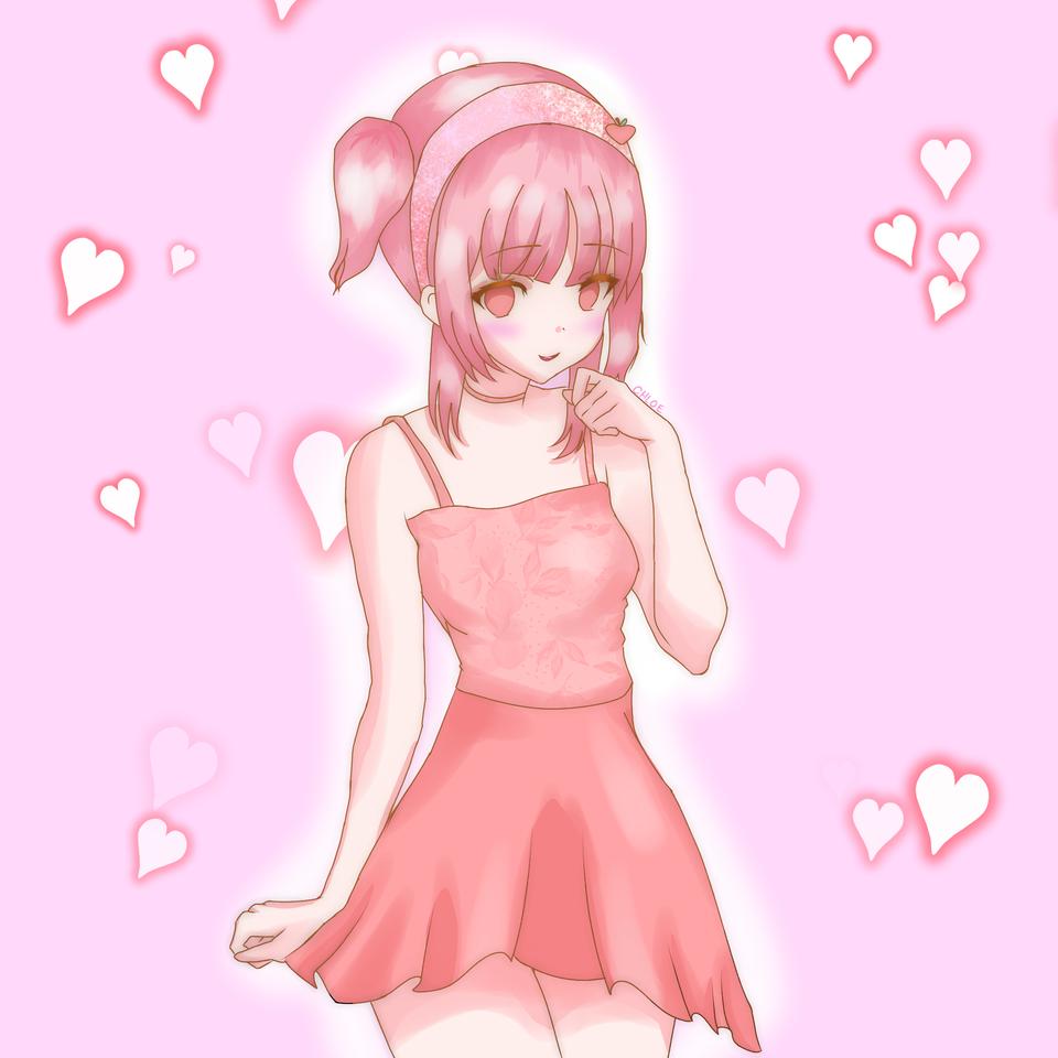<3 Illust of ☆°•chloe•°☆ cute art Artwork medibangpaint anime animeart animegirl