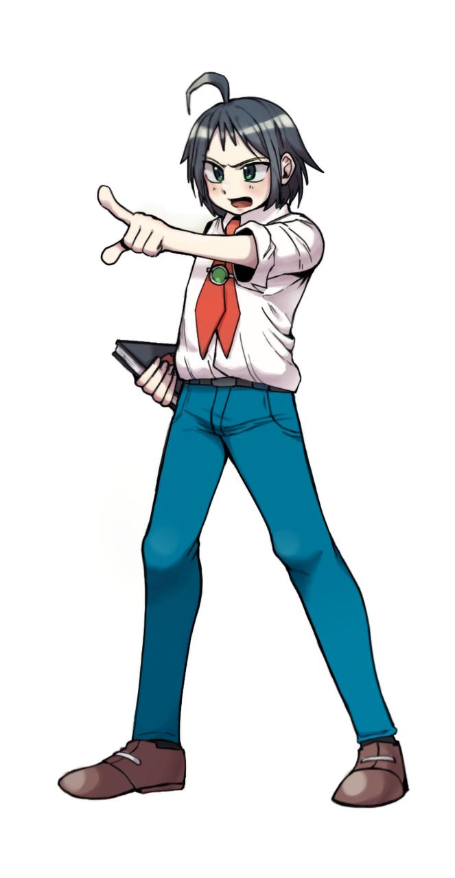B2W2 1 Illust of 문나린 Narin Moon cheren pokemon 체렌 チェレン