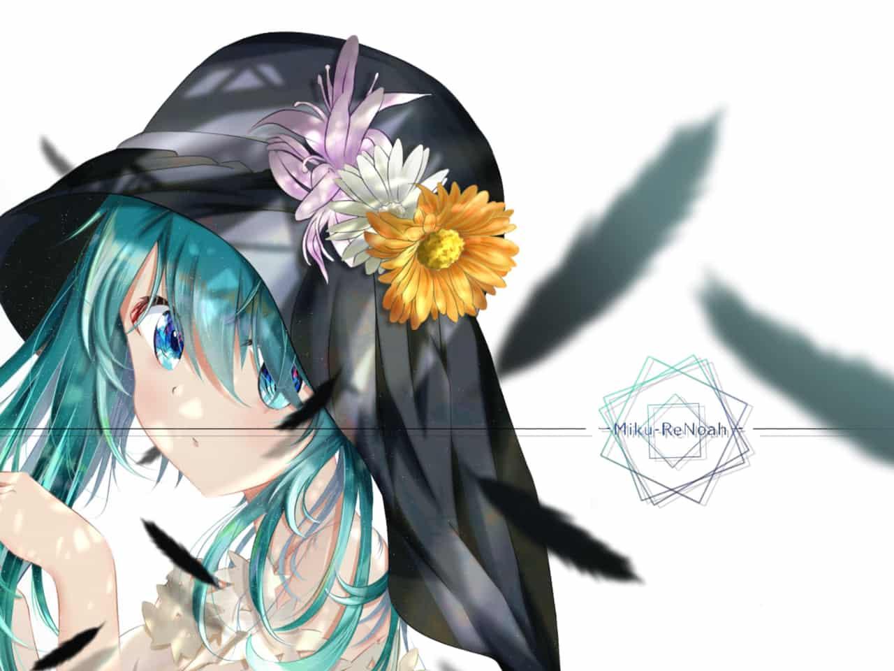 初音ミク-Hatsune Miku- Illust of ReNoah hatsunemiku girl original VOCALOID summer illustration
