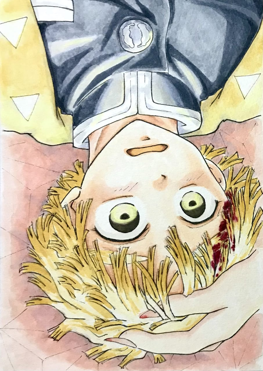 夢か現か Illust of katze Post_Multiple_Images_Contest KimetsunoYaiba アナログ AgatsumaZenitsu Copic KamadoNezuko