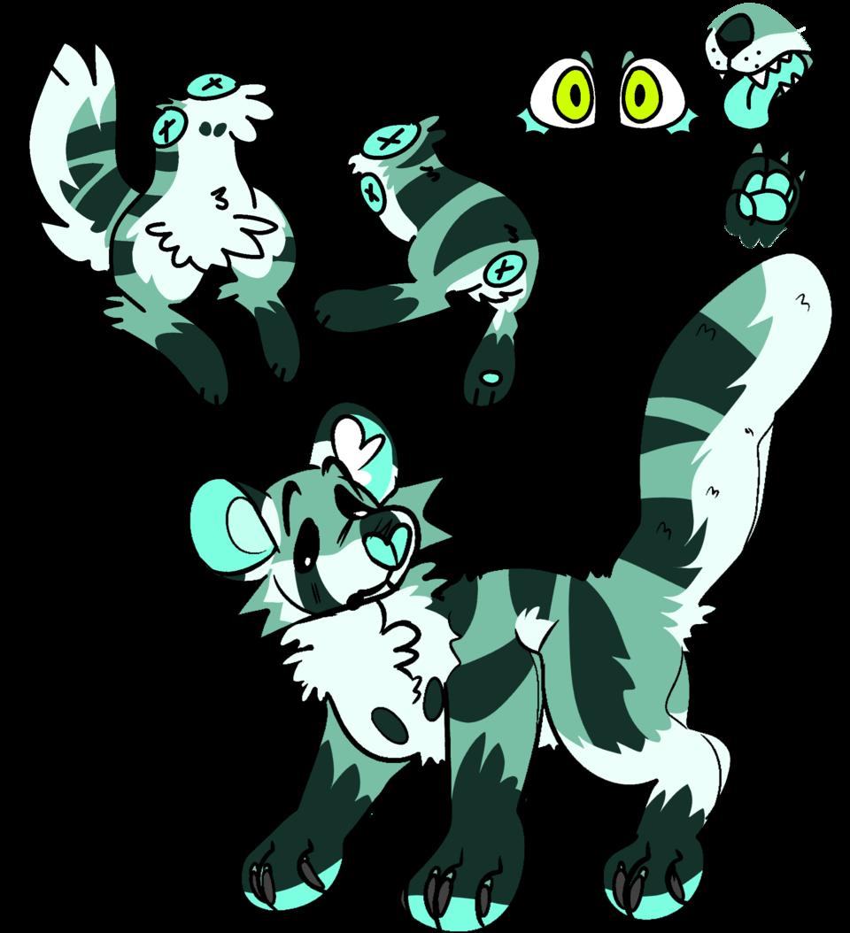 More bases Illust of 🎃𝑎𝑠𝘩🎃 furry cute base oc