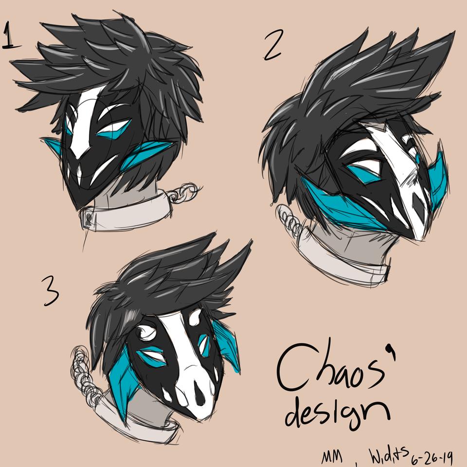 Chaos redesign ideas 2( for Maigil Makara)