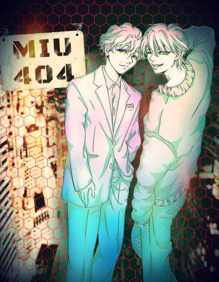 ドラマ『MIU404』を描いてみた♪② Illust of 神嘗 歪 drama 星野源 綾野剛 刑事 MIU404