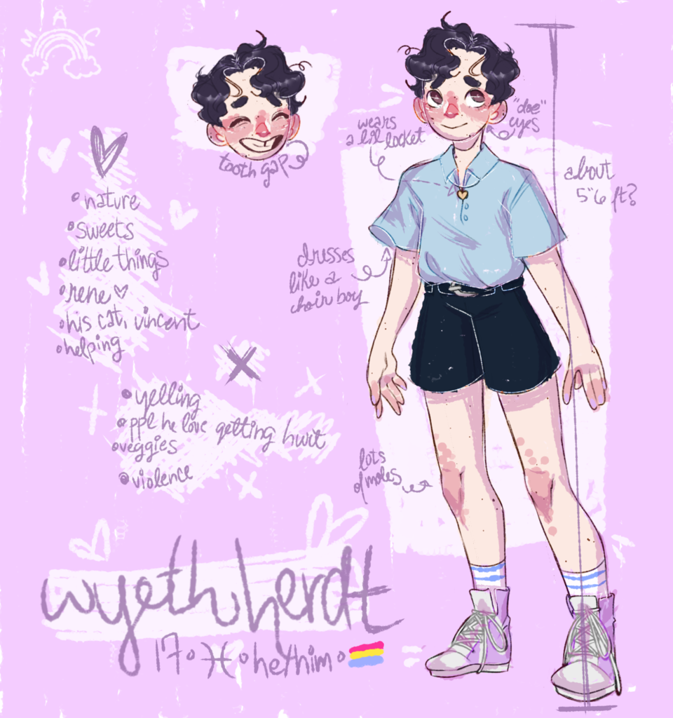 wyeth's ref sheet