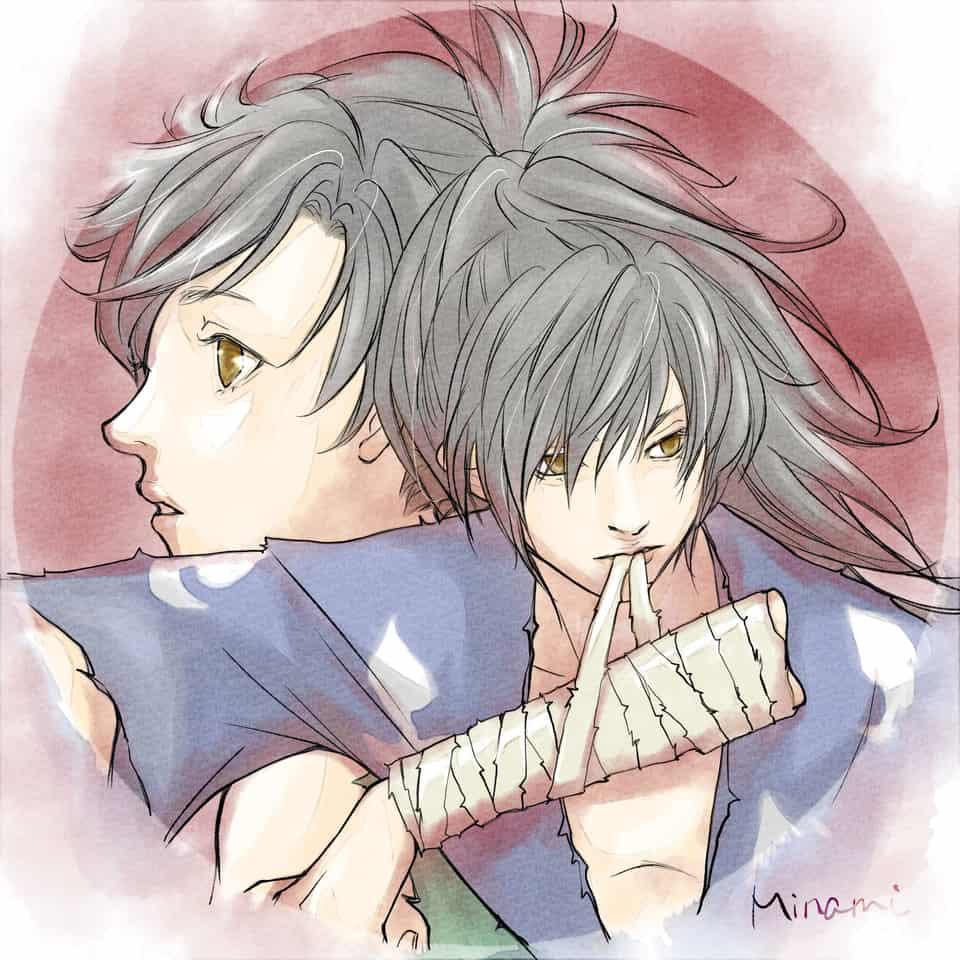 Dororo and Hyakkimaru Illust of deepseabed dororo どろろ hyakkimaru 百鬼丸