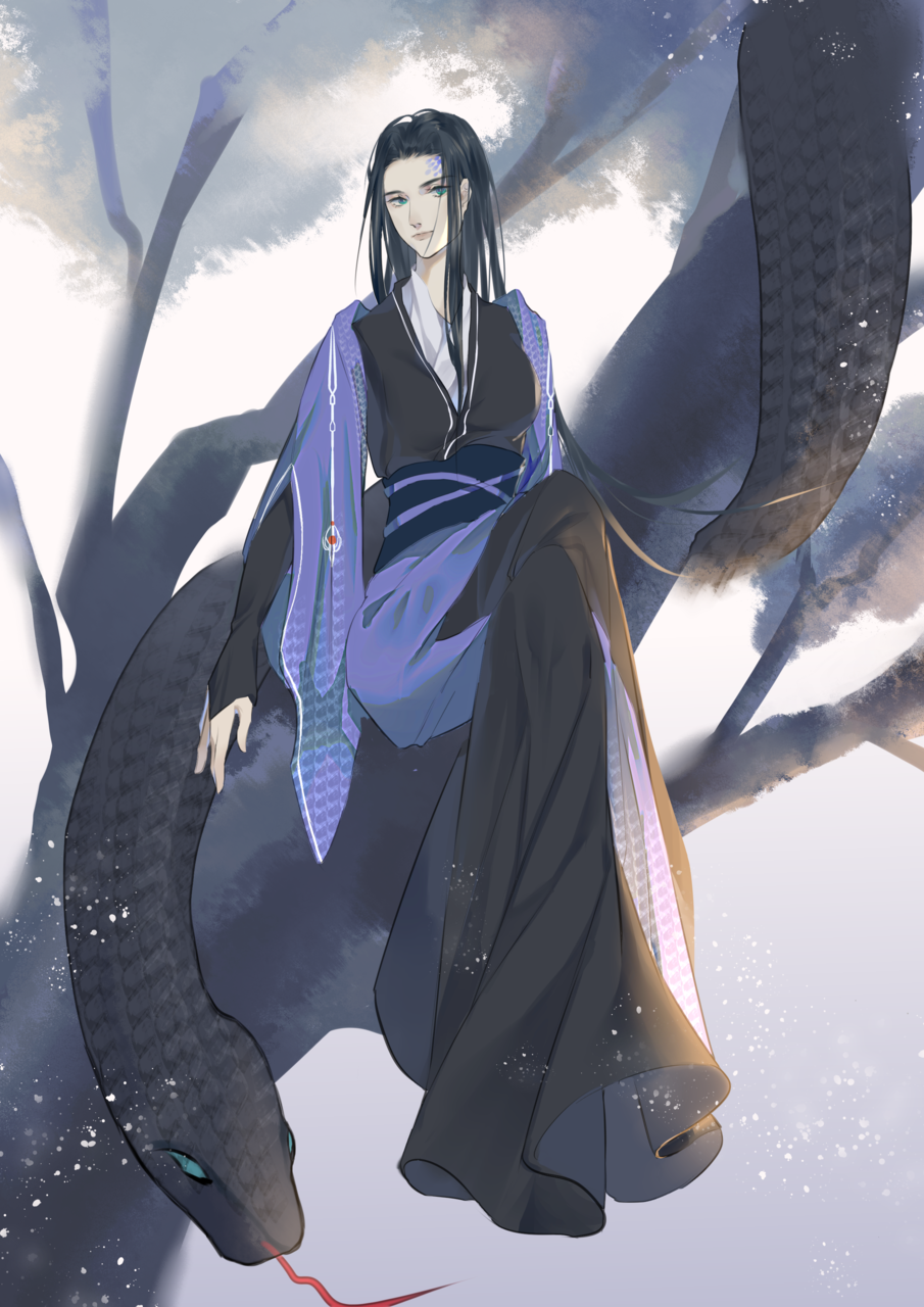 蛇 Illust of uni柒月是只鸽子精 medibangpaint