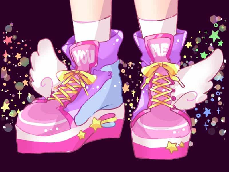✨🌈 Illust of 知花そら digital girl oc original