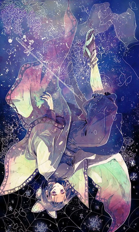 胡蝶しのぶ Illust of 灰田みなみ KimetsunoYaiba KochouShinobu