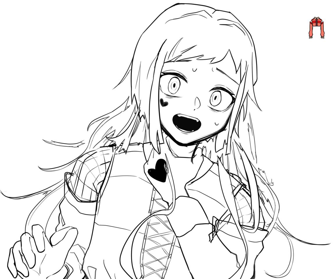 イラストメイキング Illust of 空風 Post_Multiple_Images_Contest メイキング girl impasto
