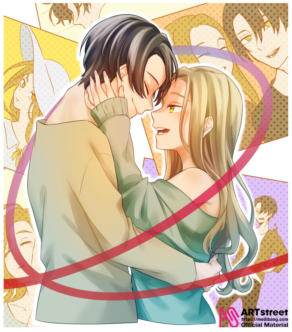 なんでもない日 Illust of 黒瀬 tracedrawing couple Trace&Draw【Official】