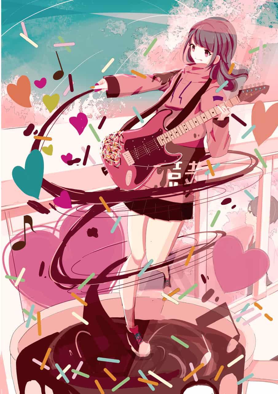 バレンタインビート Illust of Melo Feb2020:VDAY girl
