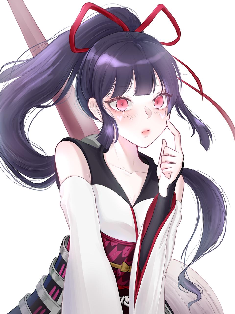 Illust of 유월 MediBang_General_Election General_Election_Ayame purple girl medibangpaint