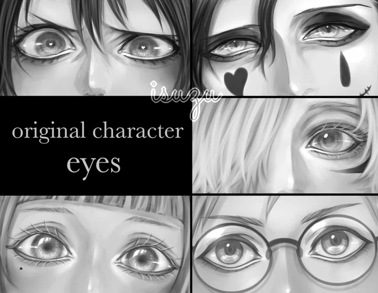 original character eyes Illust of いすゞ original girl eyes boy オリジナルキャラ oc