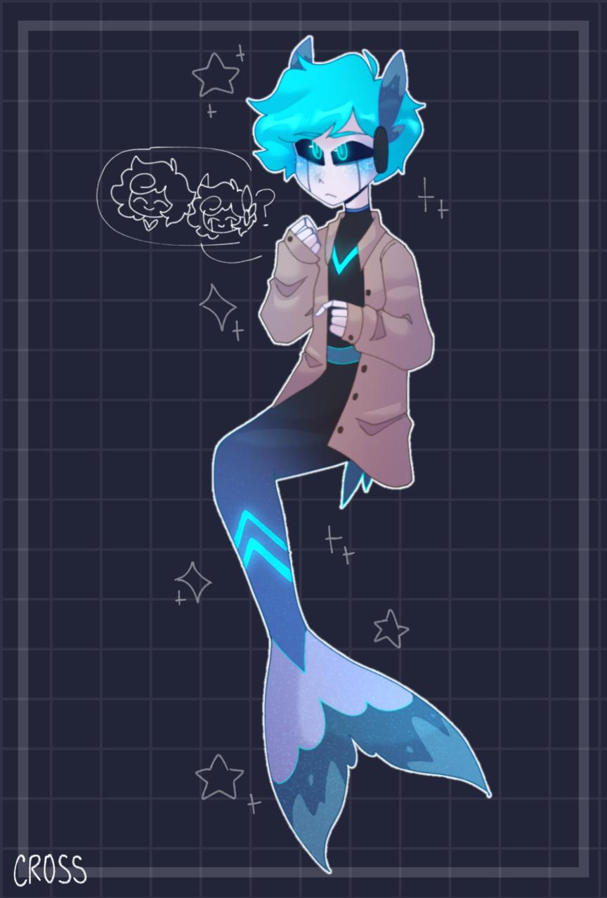 Sea Siren  Illust of CrossOut drawing oc
