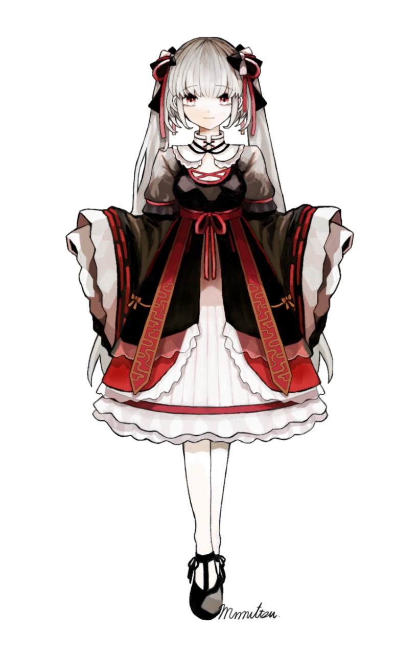 中華風な女の子 Illust of みみっつ original girl illustration