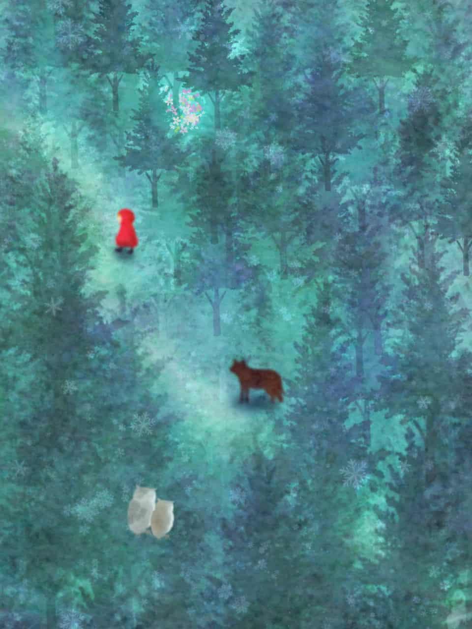 森の赤ずきん