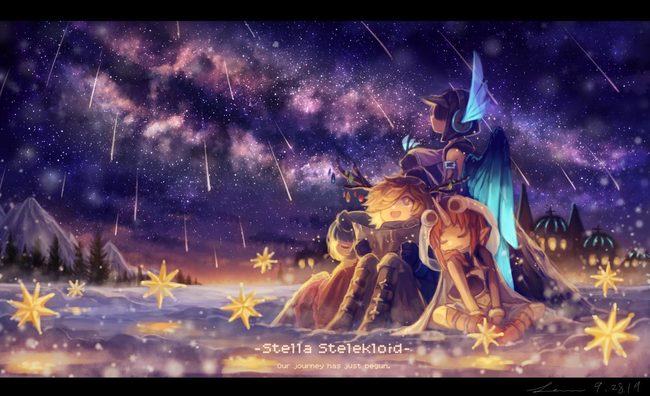 「旅《ミチビキ》はまだ始まったばかり」 Illust of 星灯れぬ fantasy ホシサガスモノ star