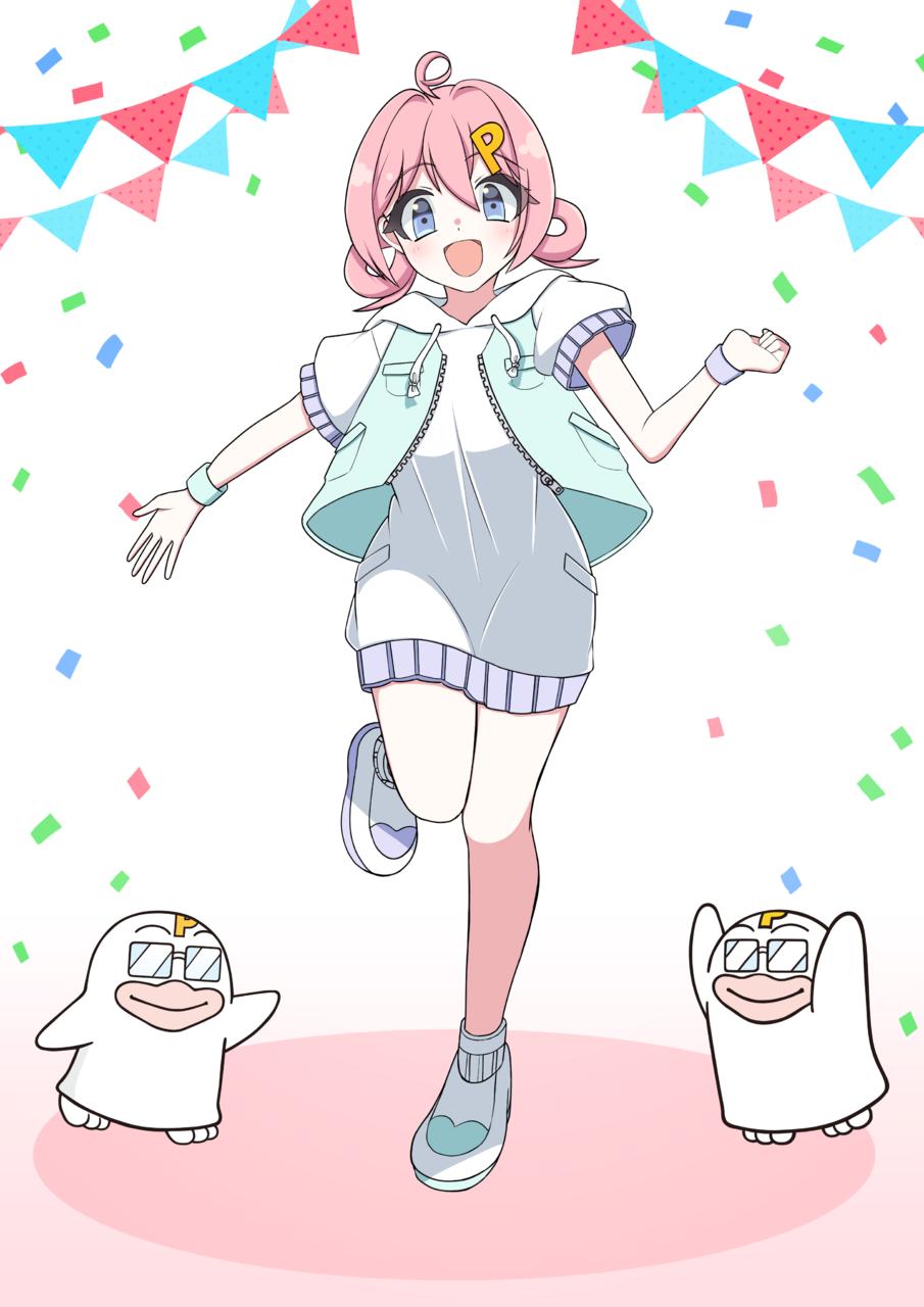 PICOQガールフレンド Illust of むぎ PICO公式キャラクターPICOQガールフレンド大募集!!コンテスト girl