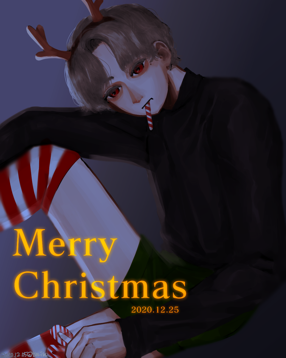 MERRY CHRISTMAS 🎁⭐🎄 Illust of 하나두울 medibangpaint Christmas