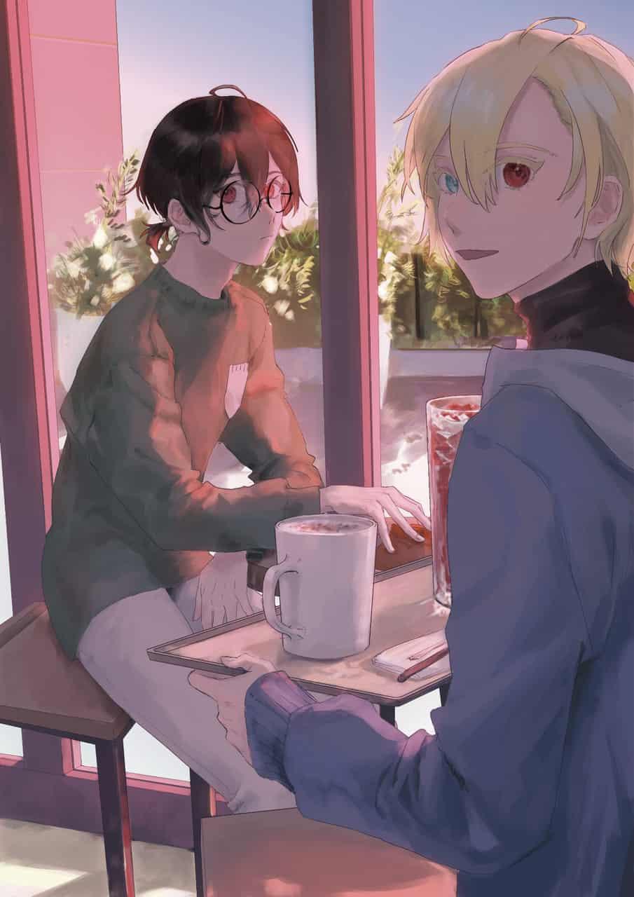 朝旭と向陽 Illust of 杏柚 oc original boy