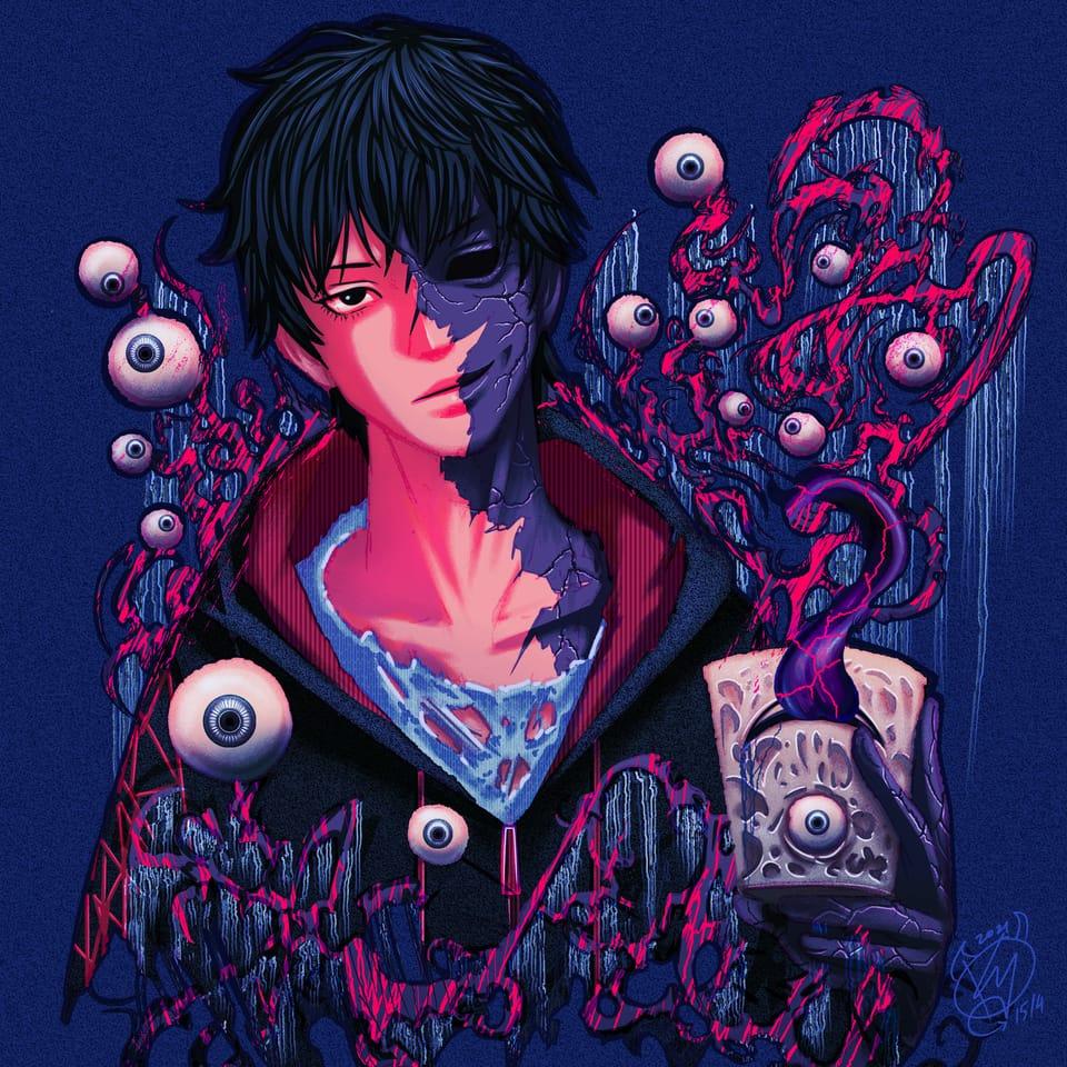 I'm a Monster  Illust of K Y Medibang illustration Sweethome monster