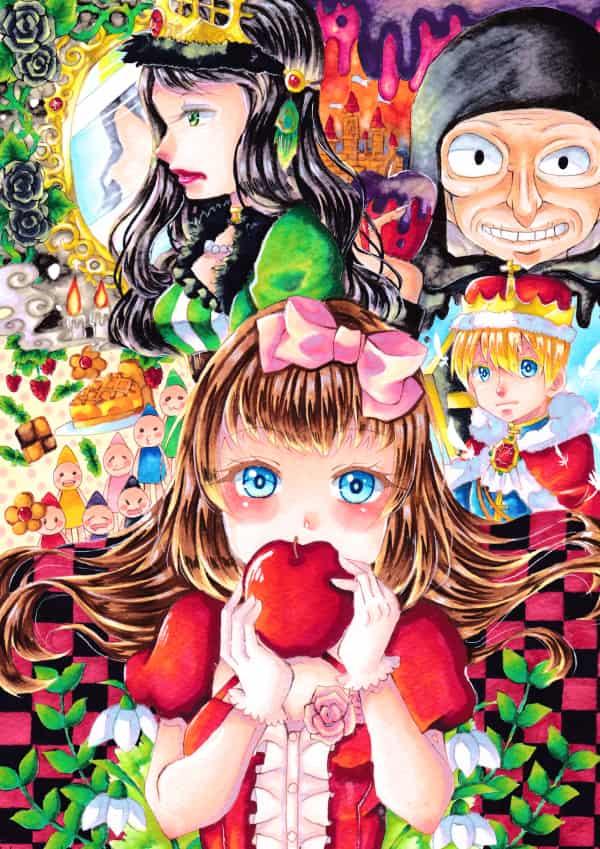 snow white Illust of ひらい祐夢 SnowWhite 童話 original