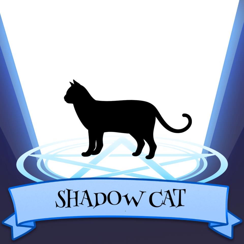 The Shadow Cat Illust of Almareus SoBadItsGood cat mythical
