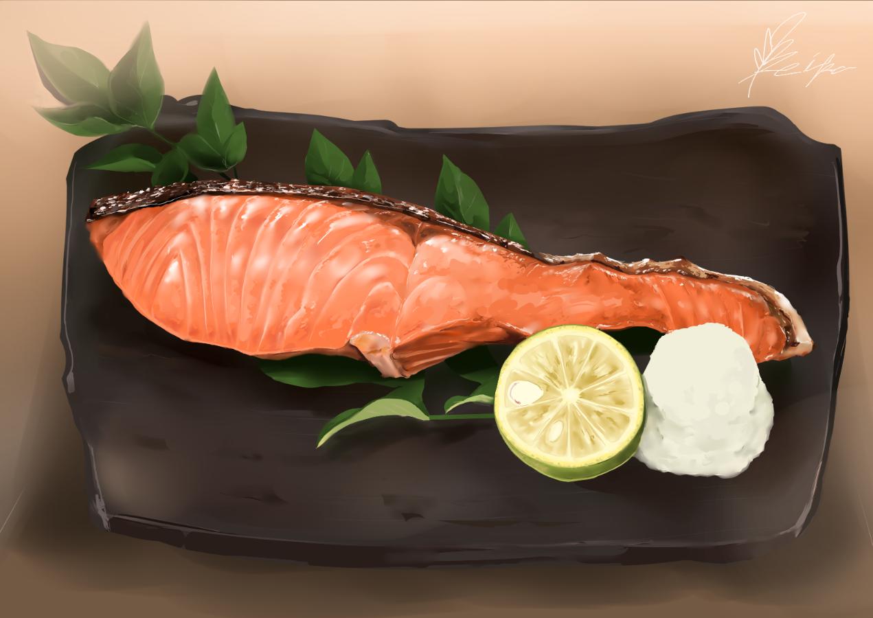 YAKIJAKE Illust of keika October2020_Contest:Food