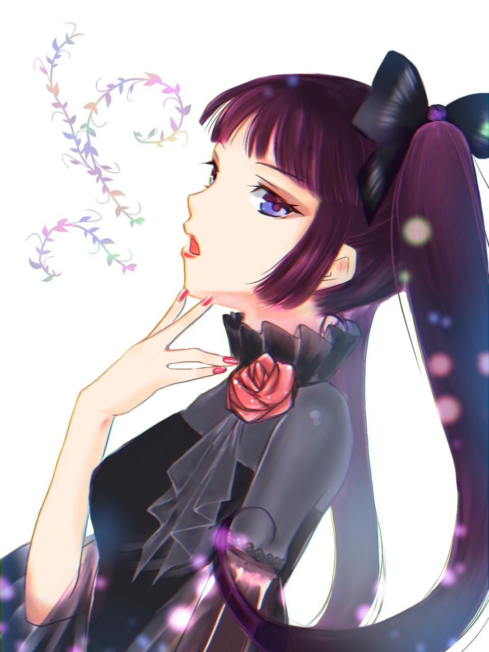 歌声 Illust of 亥喪子 ロリータ girl oc original gothic