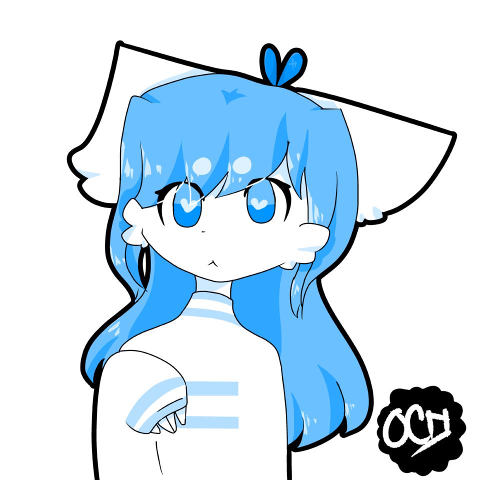 Nicolas (Nico Draw) Illust of ??? shirt blue NicoDraw fox