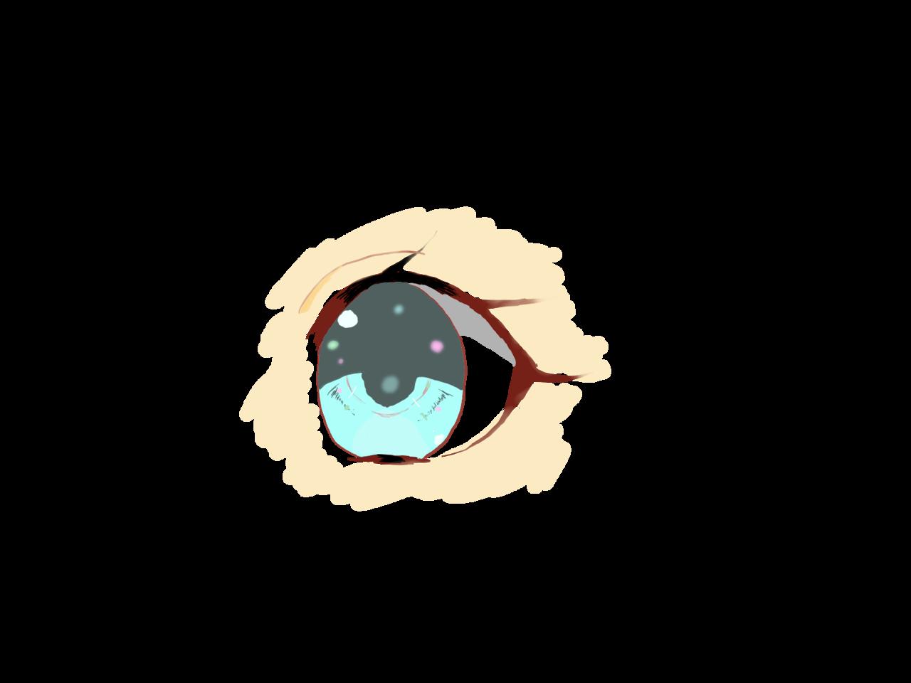 目(初デジタル) Illust of ❦E❦ illustration painting 初デジタル digital 水色 メディバン eyes メディバンペイント