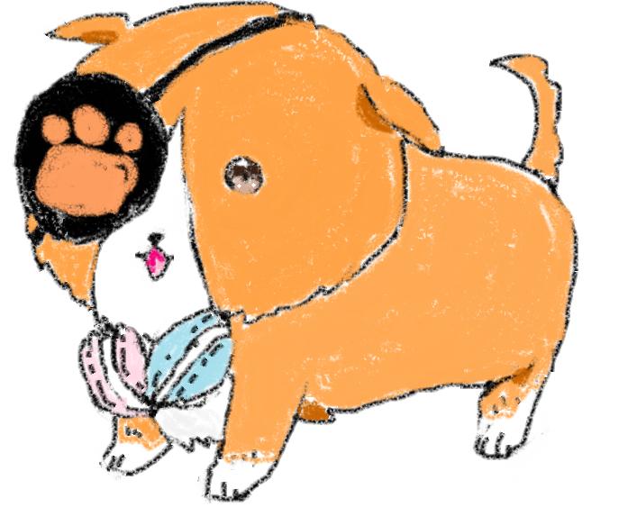 Cerberus Illust of Lokerbomd March2021_Creature anime fanart cute dog