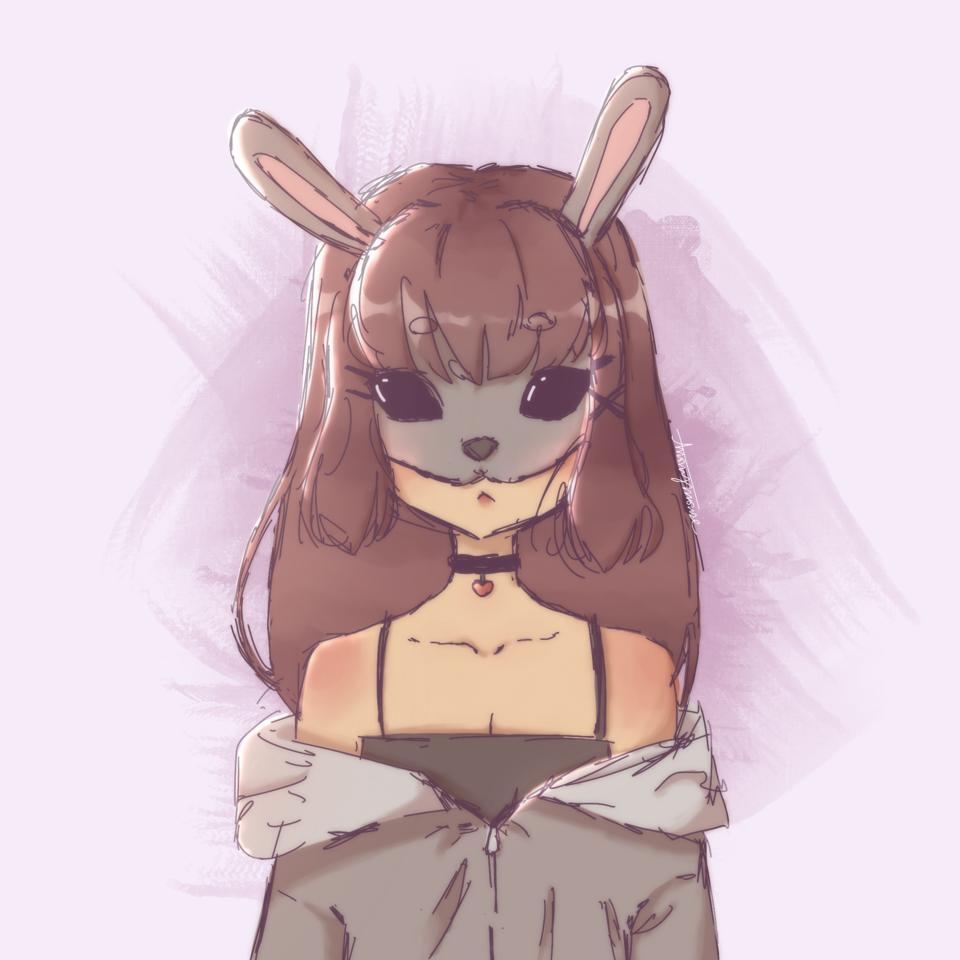 bunni Illust of AnonymouseSaysHoooi sketch bunny gorl