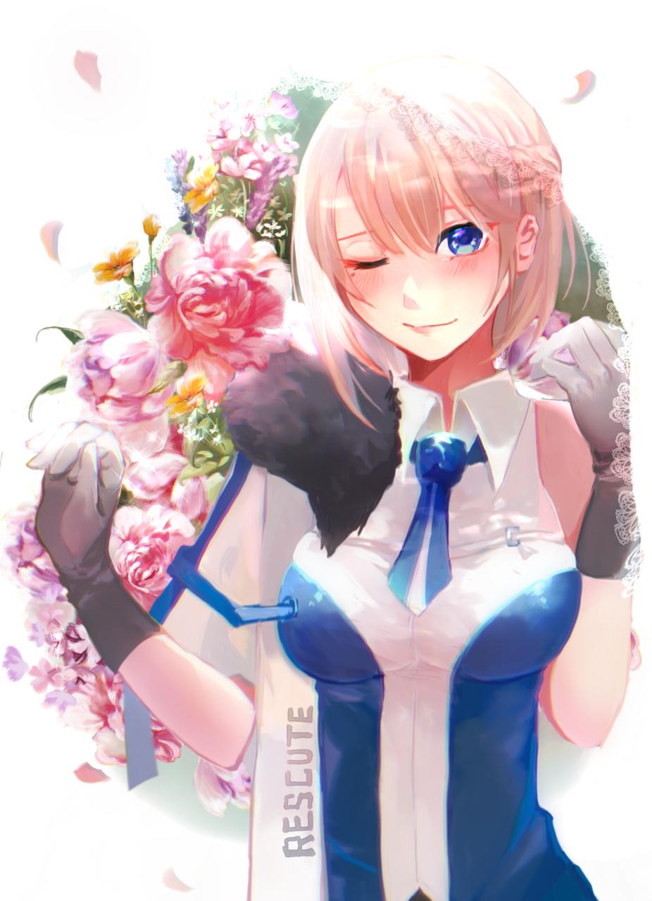 花與你 Illust of Ritsu 芊律 flower Personification girl