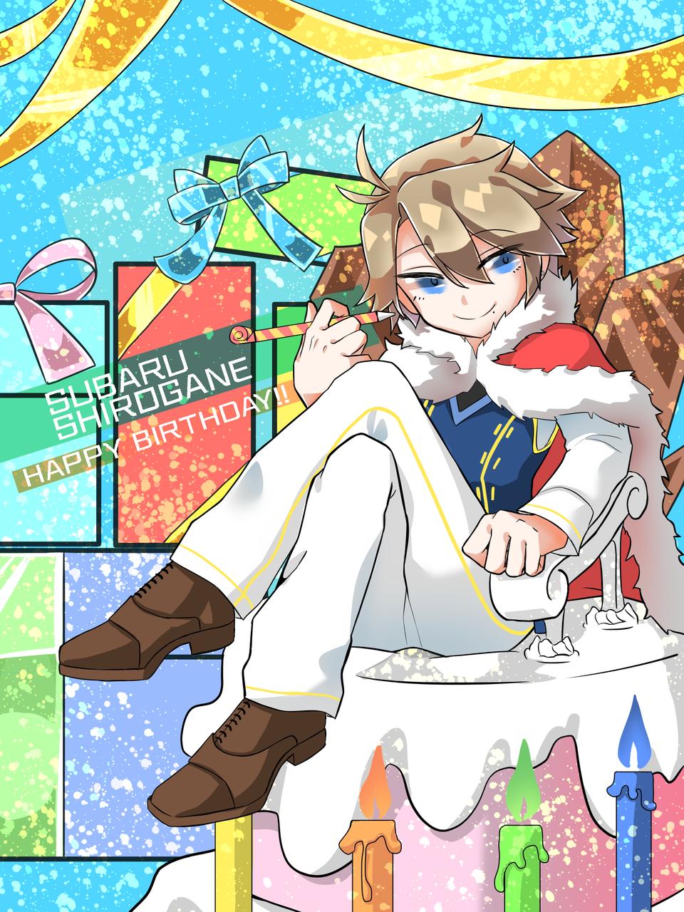 2/25 昴さん Illust of dismas medibangpaint 星鳴エコーズ 星エコ birthday 白金昴