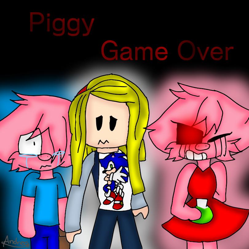 Piggy fan art Illust of AndreaTheCat medibangpaint Roblox fanart Piggy