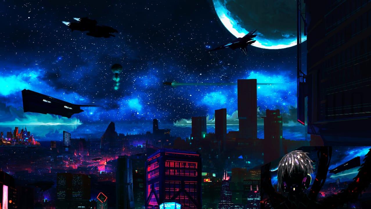 Cyberpunk Illust of 黒白 November2020_Contest:Cyberpunk