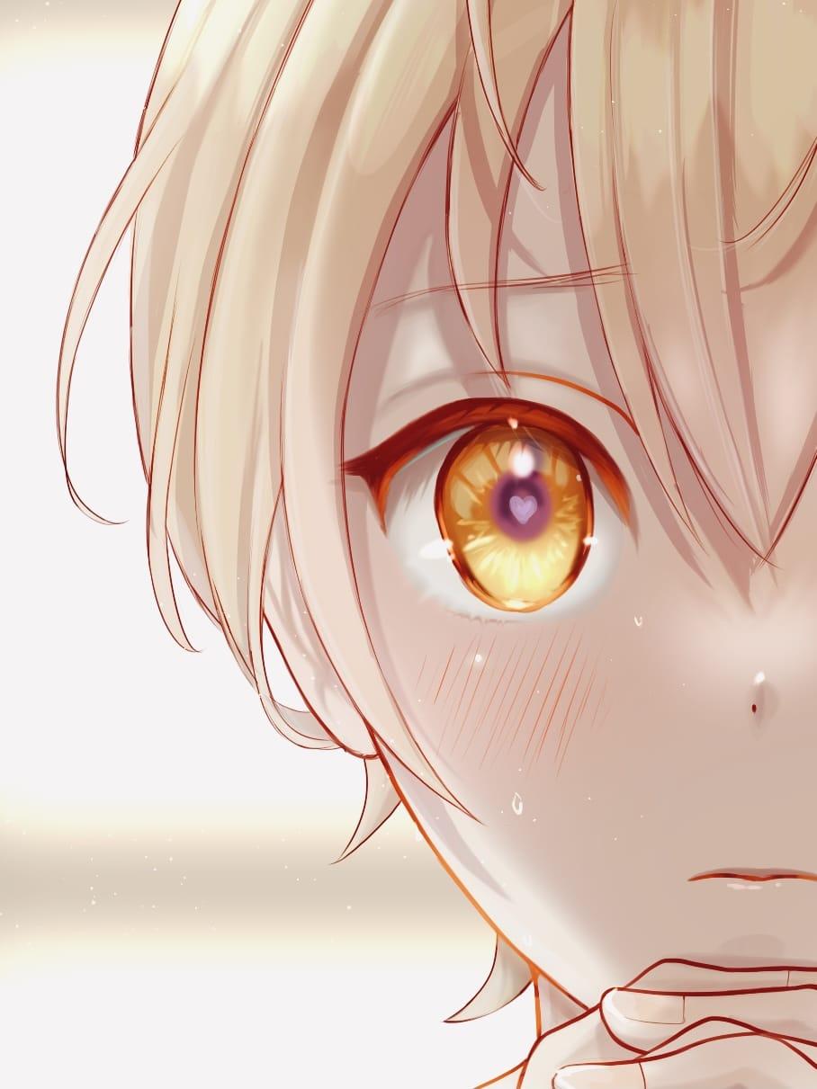 だいすきです…! Illust of FJ yellow fanart るぅとくん kawaii boy StrawberryPrince